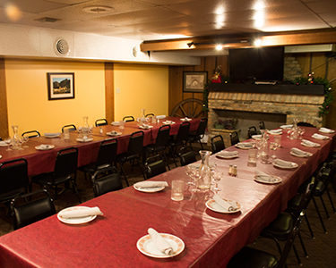 The La Casa Party Room Is A Comfortable E For 25 55 Guests It S Ideal Your Business Meeting Wedding Rehearsal Or Birthday